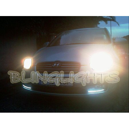 2006 2007 2008 2009 2010 2011 Hyundai Verna Led Drl Strips Headlamp