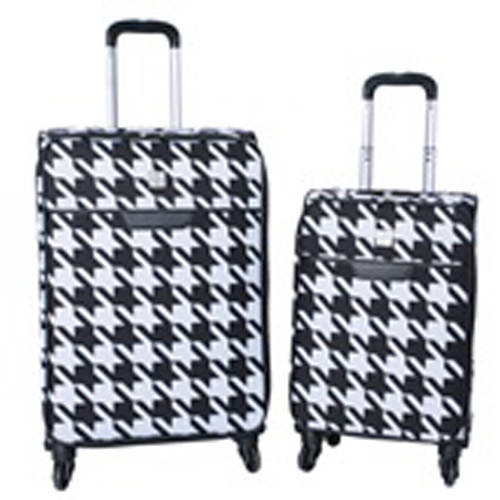 Protege 2-Piece Houndstooth Fashion Luggage Set