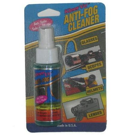 Kleer Vu 91167-C Anti Fog Pump Spray Bottle - 2oz. Carded