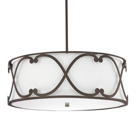 Donny Osmond Home Alexander 4-Light Drum Pendant
