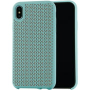 "Blackweb Soft Touch Silicone Case for iPhone with 6.5"" Screen, Mint Green"