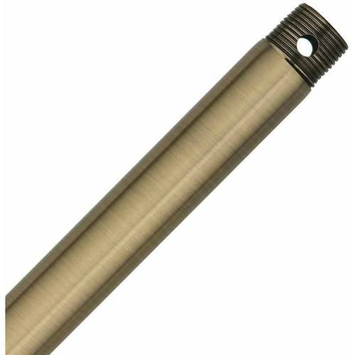 "Hunter Fan Company 26339 48"" Downrod, Antique Brass"