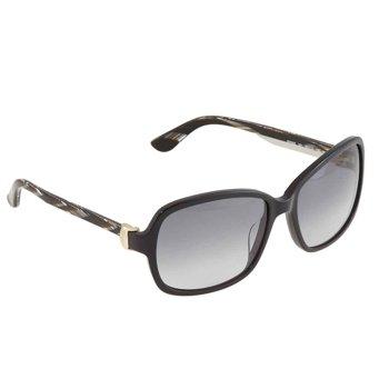 Salvatore Ferragamo Grey Gradient Rectangular Ladies Sunglasses