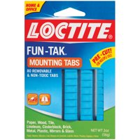 Loctite Fun-Tak Mounting Putty Tabs
