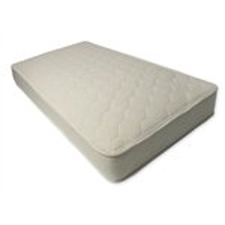 - Naturepedic Oranic Quilted Deluxe 2-Sided Mattress - Twin