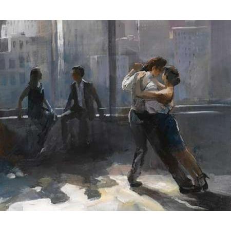 Tango Argnetino V Rolled Canvas Art - Willem Haenraets (10 x 12)