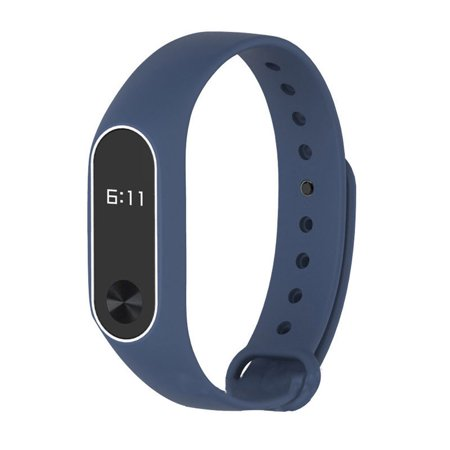 New Silicon Wrist Strap WristBand Bracelet Replacement For XIAOMI MI Band 2