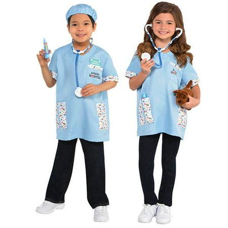 Amazing Me! Veterinarian Child Costume Kit - Child Small (4-6)