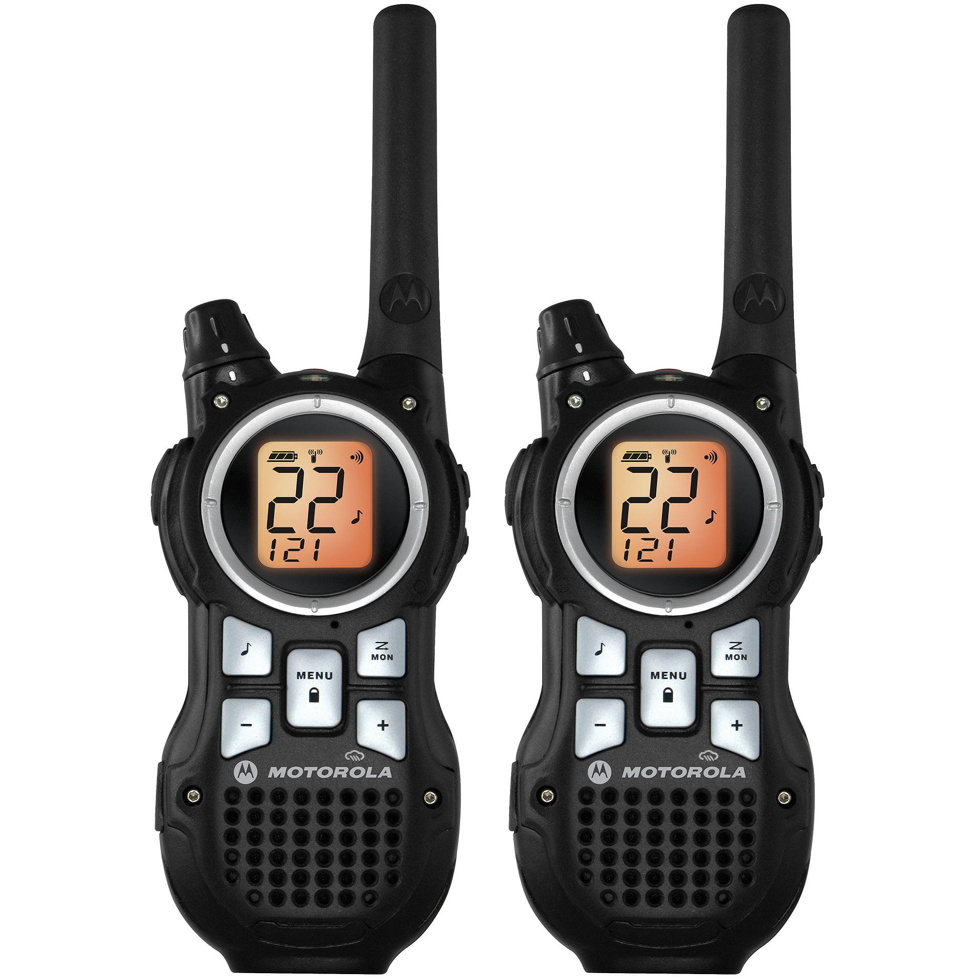 Motorola MR350R - 35 Mile Range Talkabout 2-Way Radios, PAIR