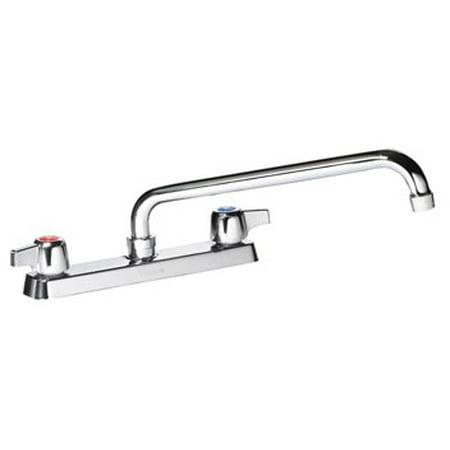 Center Deck Mount Faucet - Krowne Commercial Series 8