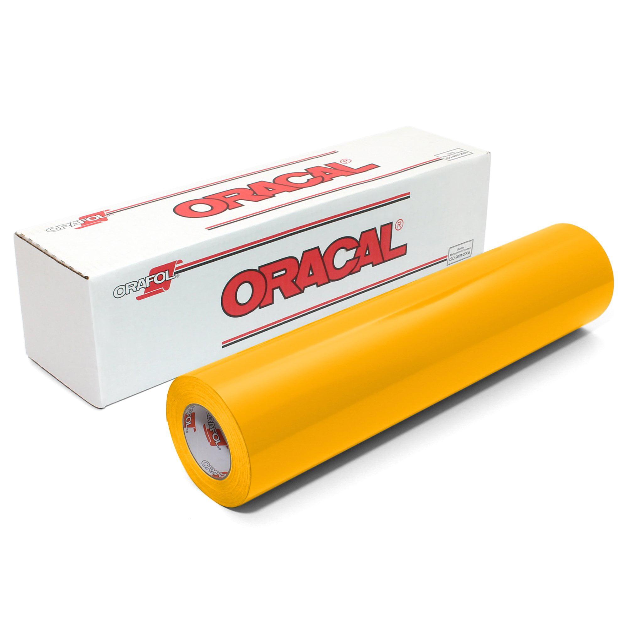 "Oracal 651 Glossy 12"" x 6 Feet Vinyl Rolls - 61 Color"