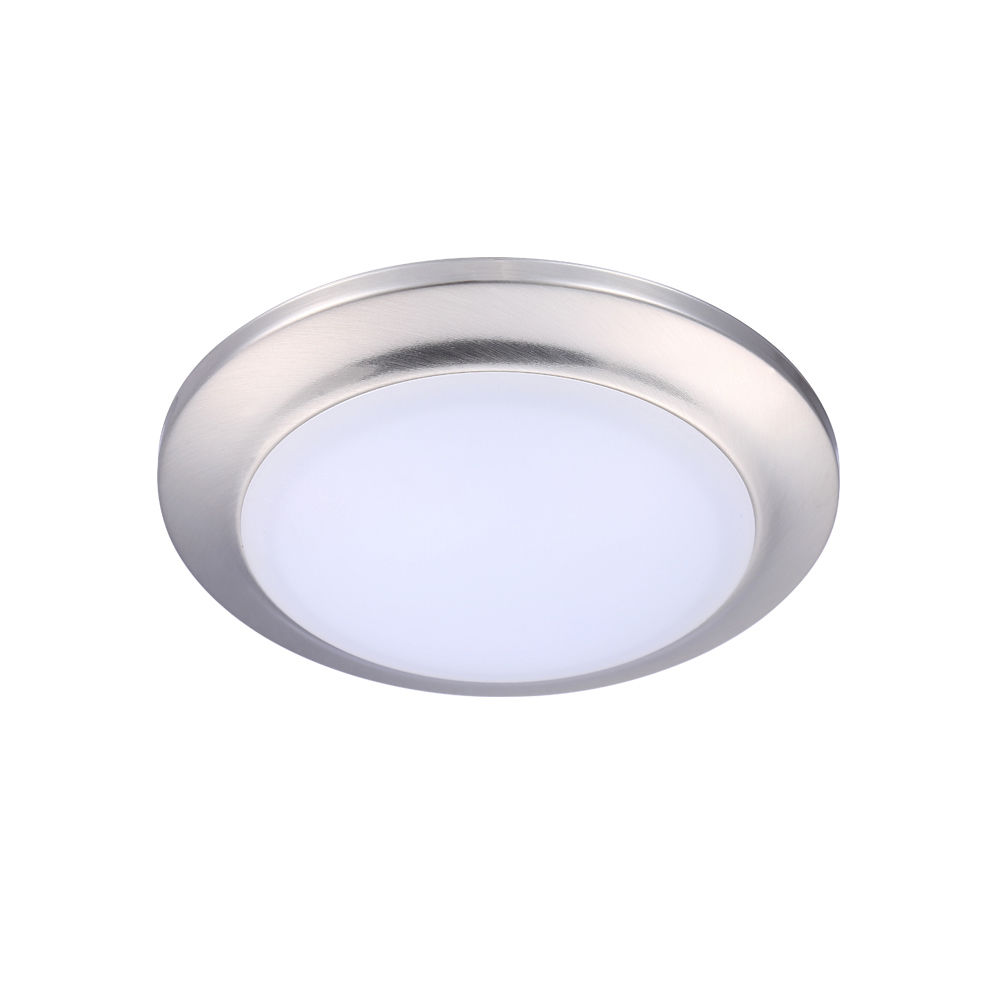"""CloudyBay 7"""" 3000K White Dimmable 1000lm LED Mini Flush Mount Ceiling Fixture by CloudyBay"""