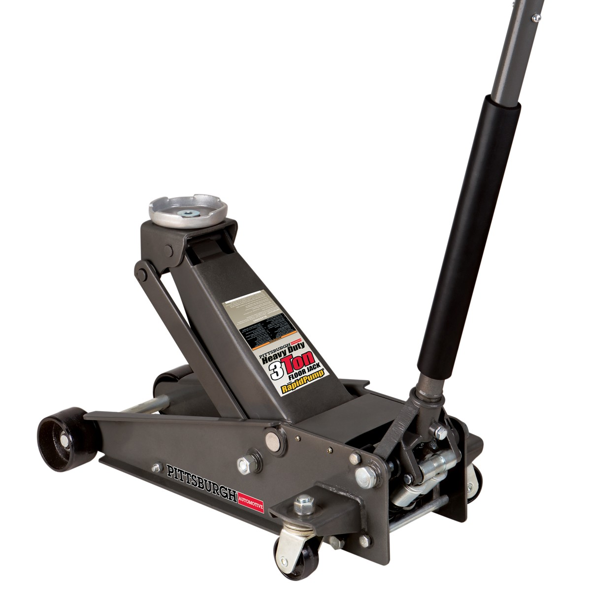 3 ton Steel Heavy Duty Service Jack with Rapid Pump®