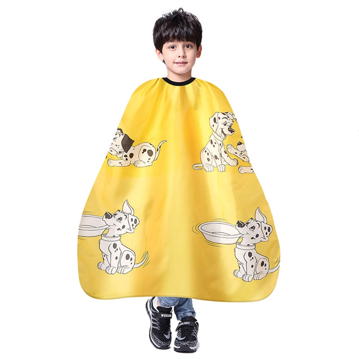Kids Children Cartoon Hairdressing Apron Waterproof Hairdressing Gown  Barber Cape Hair Cutting Cape