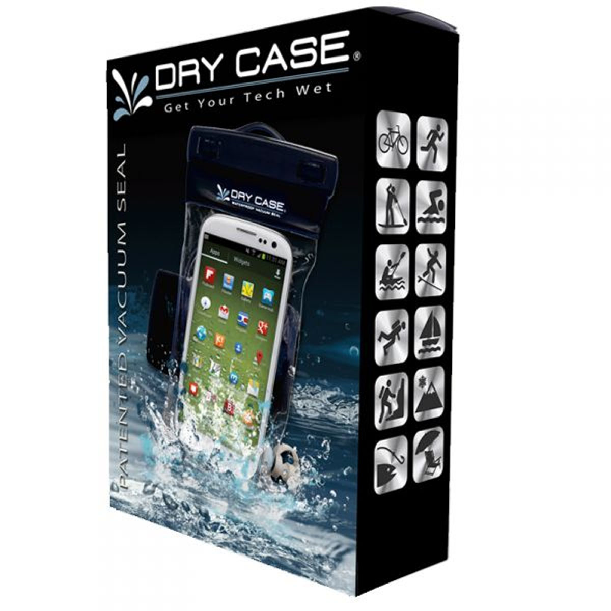 DRY CASE DC-13 WATERPROOF CASE FOR IPHONE, IPOD, SMARTPHONE