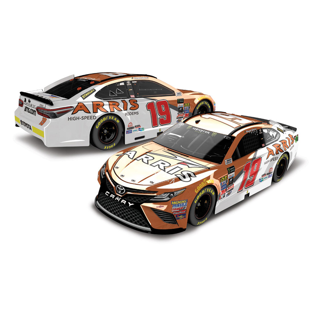 Daniel Suarez Action Racing 2017 #19 ARRIS Monster Energy Nascar Cup Series Color Chrome... by Lionel LLC