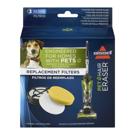 Bissell Pet Hair Eraser Replacement Filters, 1.0 CT