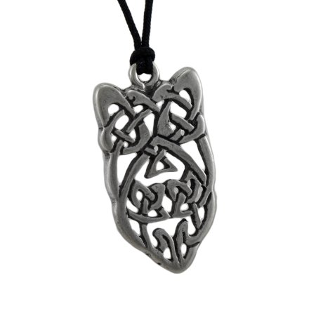 Blarney Stone Celtic Knotwork Pewter Pendant To Attract Eloquence In Speaking - image 3 de 3