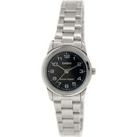 Women's Analog Quartz Water Resistant Stainless Steel Watch LTPV001D-1B ()