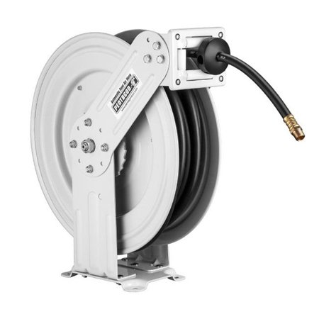 Pentagon Tools | Retractable Air Hose Reel | Dual Arm | 50 FT Hose