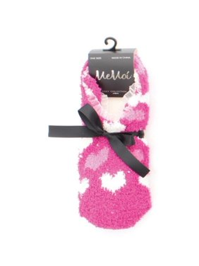 f483ab046 Product Image MeMoi Duo Hearts Women s Slippers l Teen Slippers One Size    Pink MF4 936