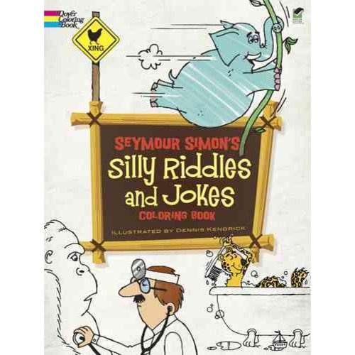 Seymour Simon's Silly Riddles and Jokes Coloring Book