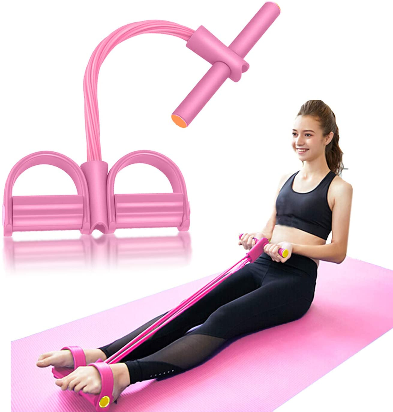 ABS Resistance Training Resistance Bands Tensioner Arm Strength Fitness Rope ON3