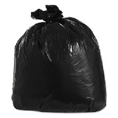 Low-Density Can Liners, 33gal, 23w x 10d x 39h, Black