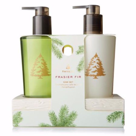 Thymes Sink Set With Caddy - Frasier Fir