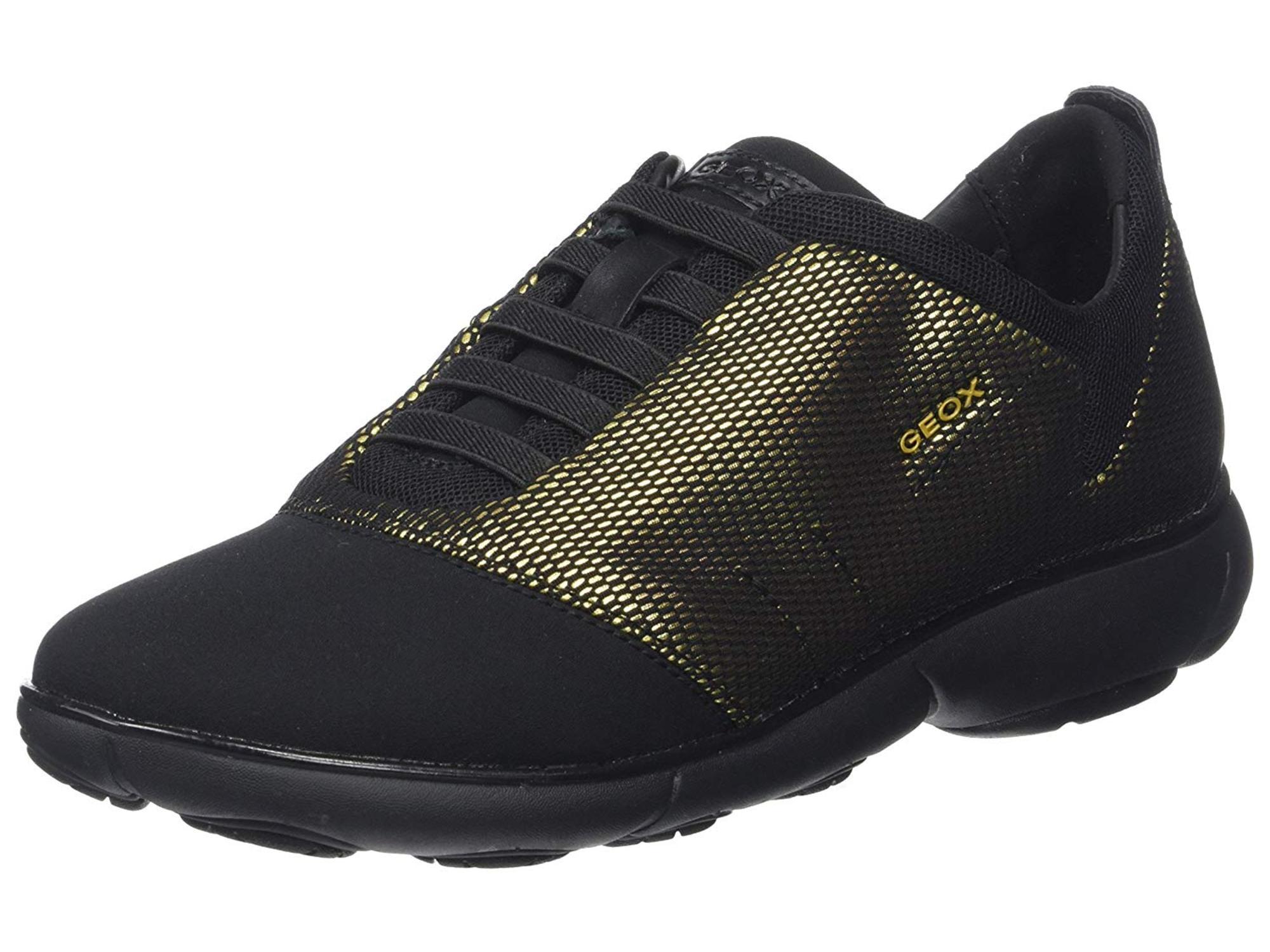 Geox Womens Nebula 16 Sneaker Low Top Bungee Fashion Sneakers by Geox
