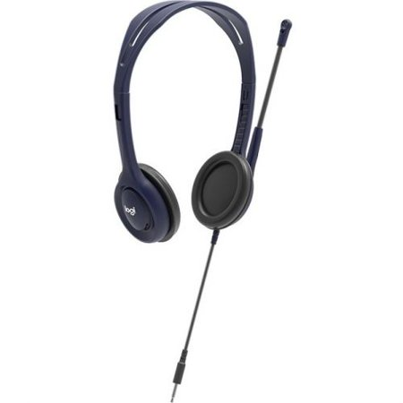 a671b4a694a Logitech Wired 3.5 mm Headset with Microphone - image 1 of 1 ...