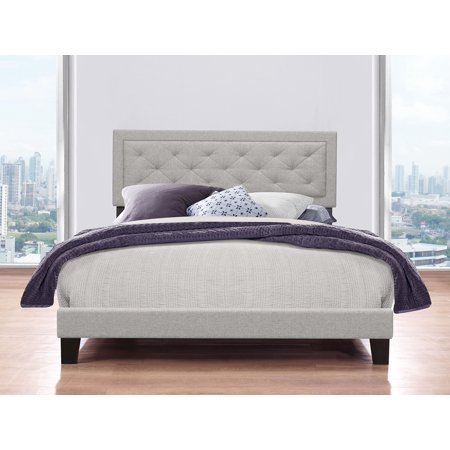 Hillsdale Furniture La Croix Platform Bed, Tufted Headboard, Multiple Sizes and Multiple Colors ()