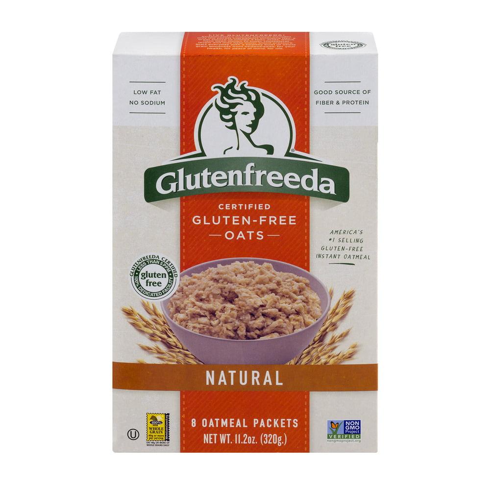 Glutenfreeda Certified Gluten-Free Oats Natural Oatmeal Packets - 8 CT