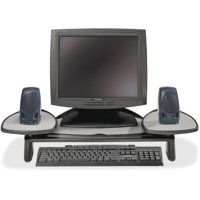 Kensington, KMW60046, Adjustable Flat Panel Monitor Stand, 1 Each, Black