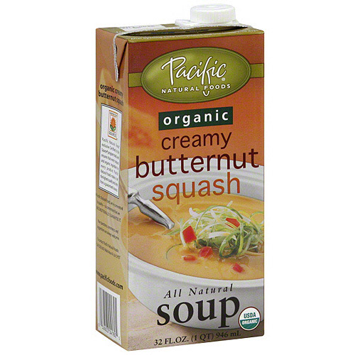 Pacific Natural Foods Organic Creamy Butternut Squash Soup, 32 oz (Pack of 12)