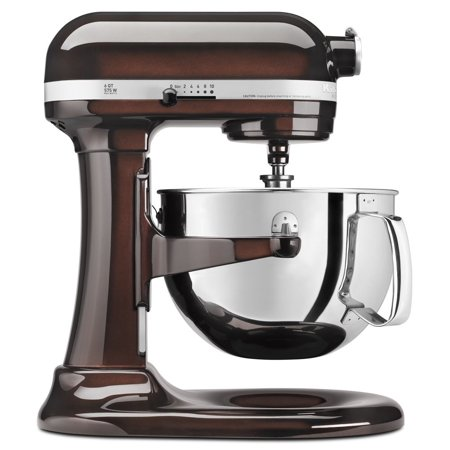 KitchenAid RRKP26M1XES 6 Qt. Professional 600 Series Bowl-Lift Stand Mixer - Espresso (CERTIFIED