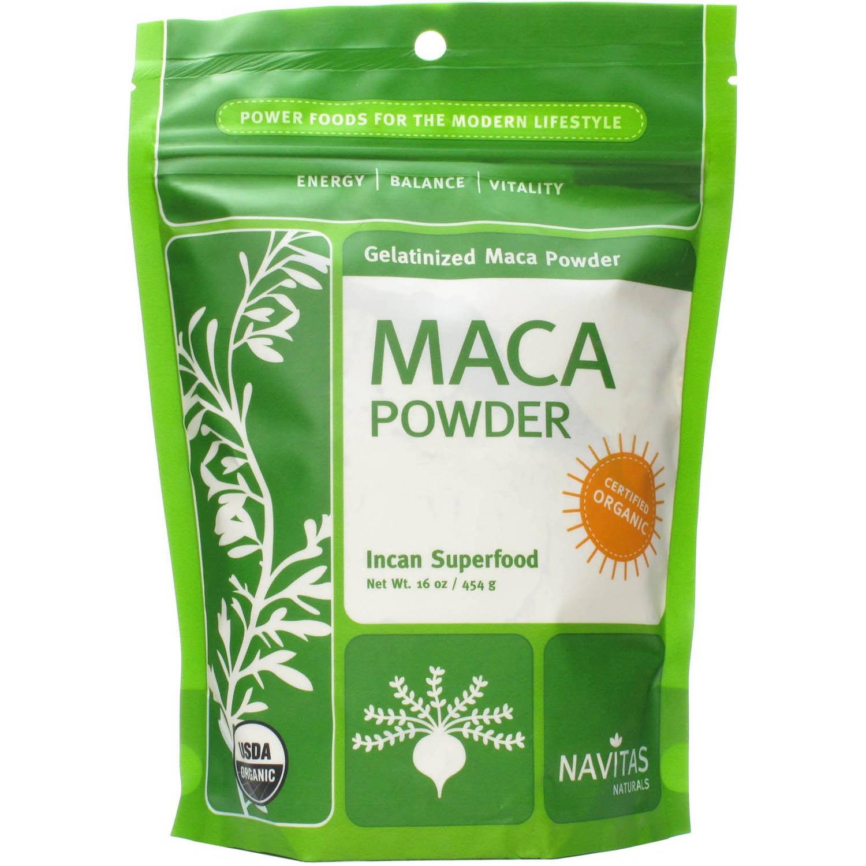Navitas Organic Gelatinized Maca Powder, 16 oz