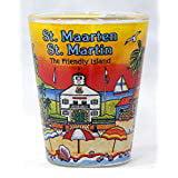 St. Martin/St. Maarten Sunset Shot Glass