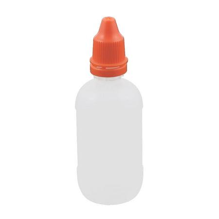 50ml Dropper Clear Plastic Bottle Drop Eye Liquid Squeezable Empty Red Cap](Empty Eye Socket Halloween)