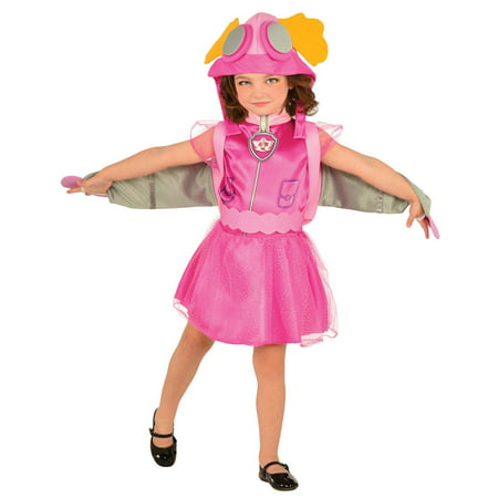 Paw Patrol Skye Child Halloween Costume](Girl Cat Halloween Costumes)