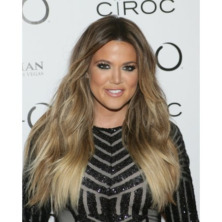Khloe Kardashian At Arrivals For Khloe Kardashian 30Th Birthday At Tao Nightclub Rolled Canvas Art     8 X 10