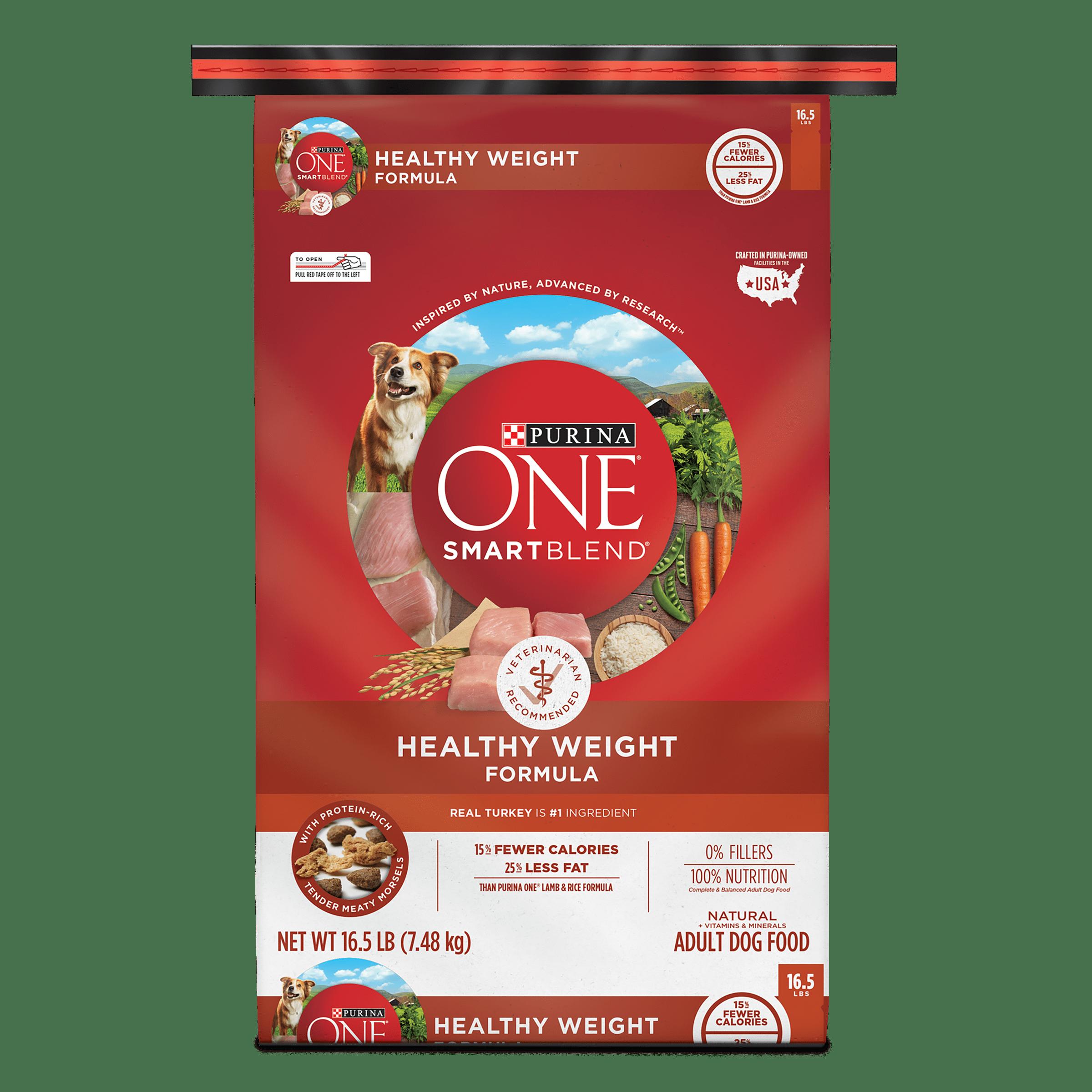 Purina ONE SmartBlend Natural Healthy Weight Formula Adult Dry Dog Food - 16.5 lb. Bag