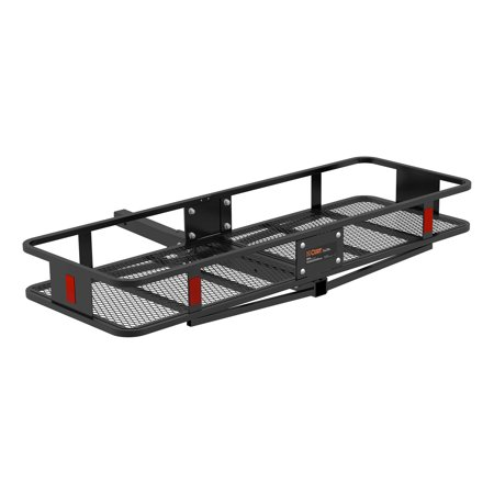 Curt Hitch 18151 Trailer Hitch Cargo Carrier  Mounts In 2 Inch Receiver; 500 Pound Capacity; 60 Inch x 20 Inch x 6 Inch; Mesh; Folding  - image 2 of 7