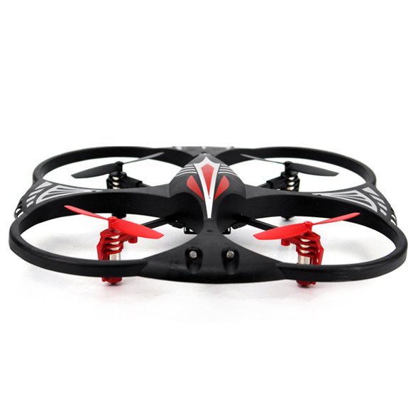 Attop YD-716 4 Channel RC 3-Axis Flight Control UFO Quadcopter w/LED Lights