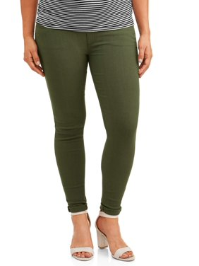 Maternity Oh! Mamma Skinny Boyfriend Pant with Full Panel (Available in Plus Sizes)