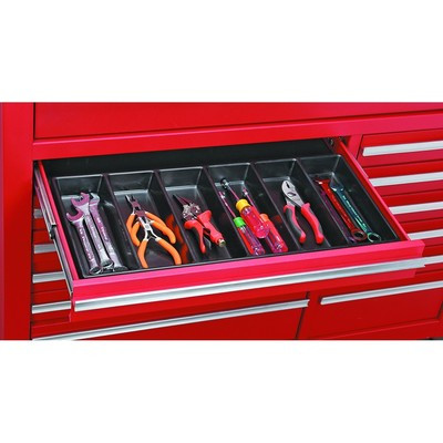 Small Tool Box Inside Drawer Organizer Divider for Kitchen Desk Tool Rollaway