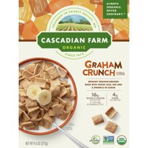 Breakfast Cereal: Cascadian Farms Graham Crunch