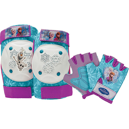 Bell Disney Frozen Elbow And Knee Pads, Aqua