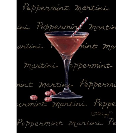 Peppermint Martini Poster Print by Janet Kruskamp](Peppermint Martini)