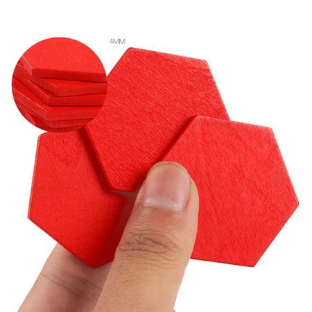 155PCS motif en bois bloc forme géométrique créative puzzle jouet jouet éducatif - image 8 de 10